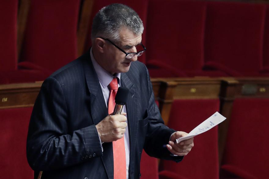 Jean Lassalle à l'Assemblée nationale en 2017