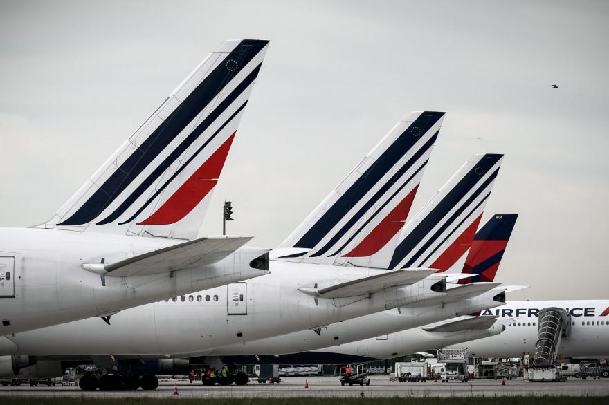 Des avions d'Air France à l'aéroport Roissy-Charles-de-Gaulle, le 7 mai 2018 (Illustration)