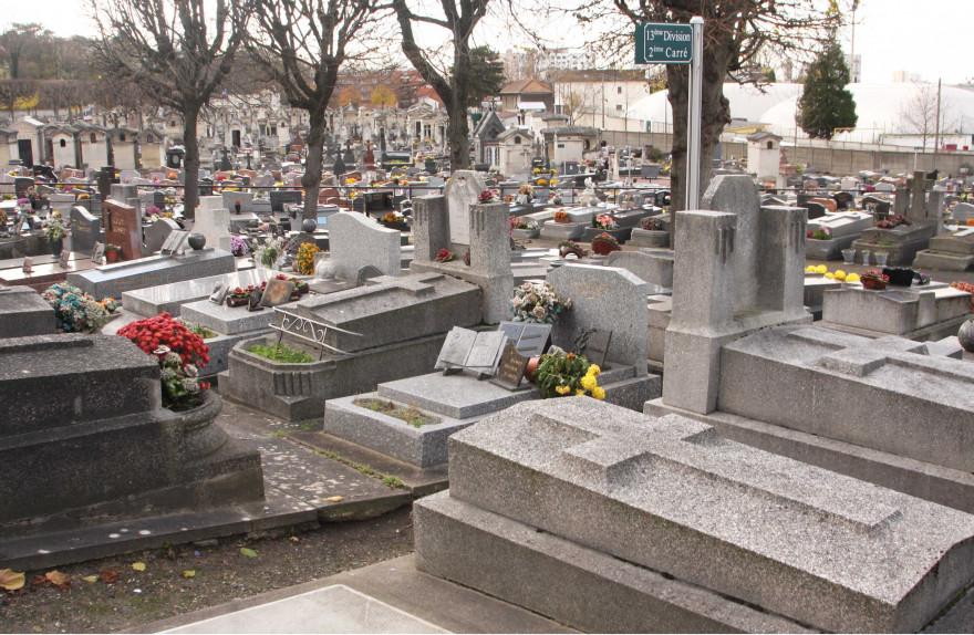 Le cimetière de Pantin le 26/11/2012
