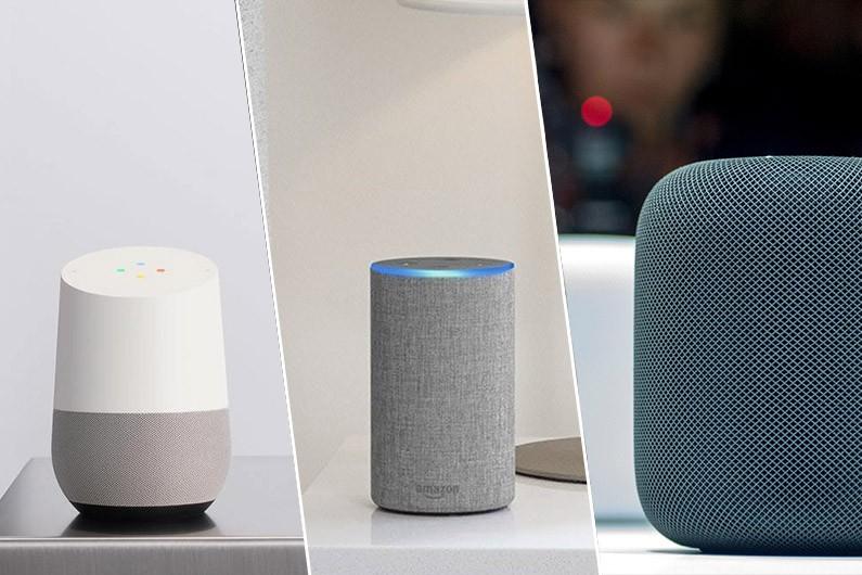 Google, Amazon et Apple se disputent le marché émergent des haut-parleurs intelligents