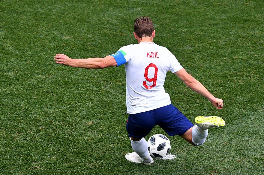 Harry Kane avec l'Angleterre le 24 juin 2018 à Nijni Novgorod