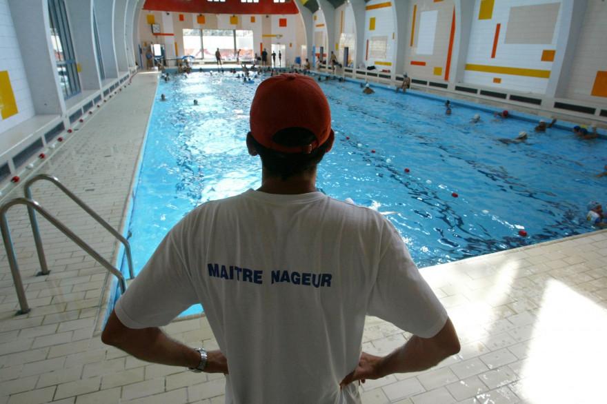 La piscine de la Butte aux Cailles en 2003 à Paris