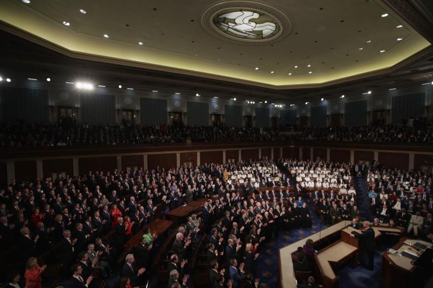 La chambre des représentants en février 2019