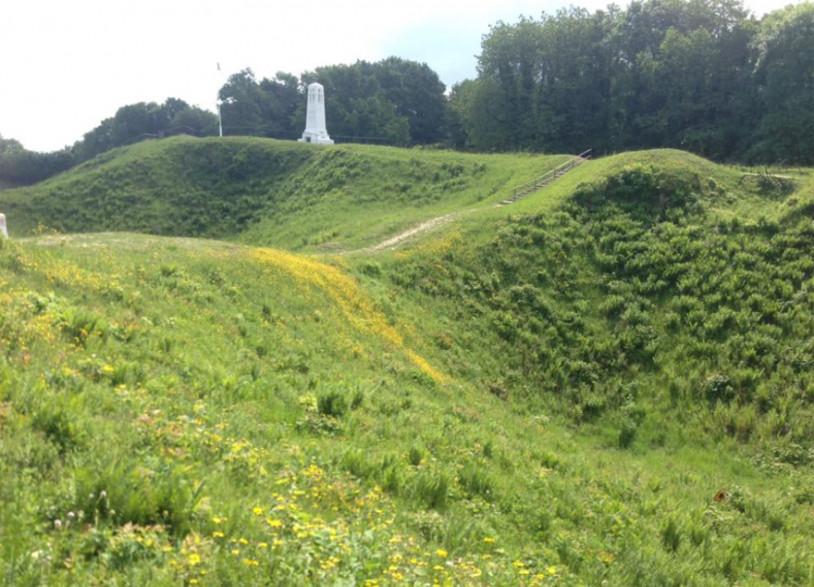 """Dans la Meuse, la butte de Vauquois est le lieu emblématique de la """"guerre des mines"""""""