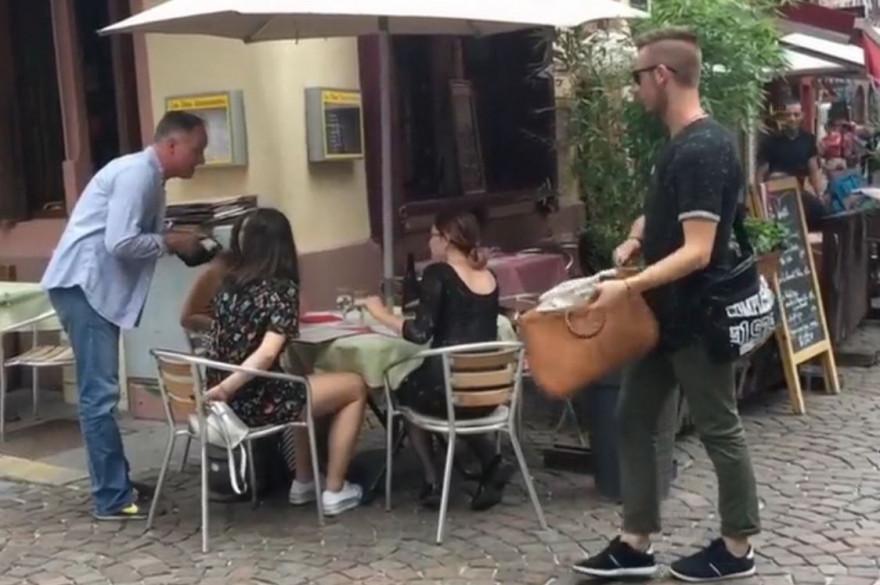 À Strasbourg, les policiers jouent aux pickpockets pour faire de la prévention
