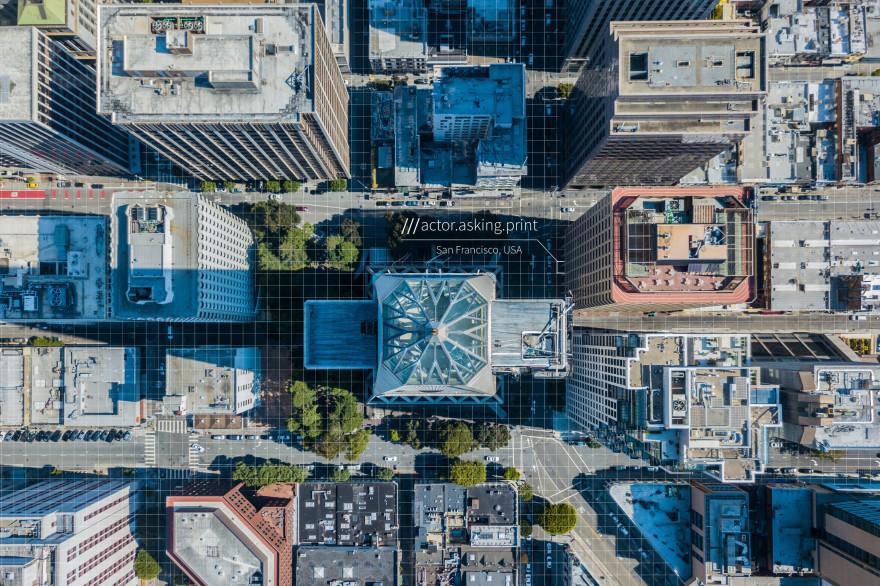 What3words a découpé le monde en carrés de 3 mètres de côté et leur a donné une adresse unique