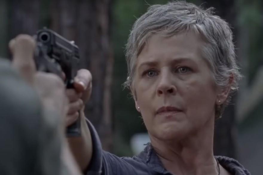 """Carole dans la bande-annonce de la saison 9 de """"The Walking Dead"""""""
