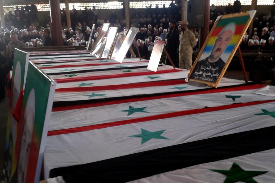 Les multiples attaques terroristes en Syrie revendiquées par l'État islamique ont fait au moins 220 morts