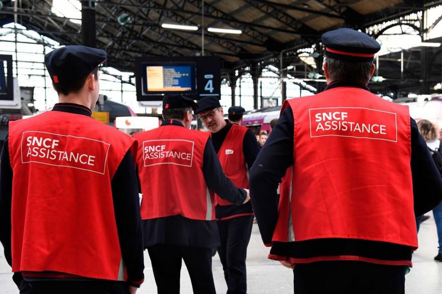 Des employés de la SNCF (illustration)