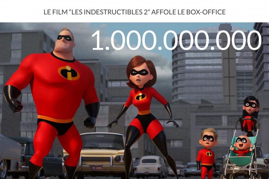"""""""Les Indestructibles 2"""" est le 3e plus gros succès de Disney cette année"""