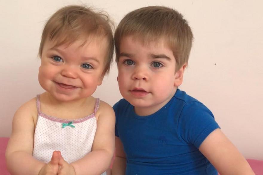 Les parents d'Emma, 9 mois, et de Hugo, 2 ans, lancent une cagnotte pour tenter de sauver leurs enfants malades