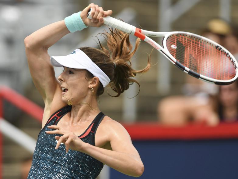 La joueuse française Alizé Cornet le 8 août 2018