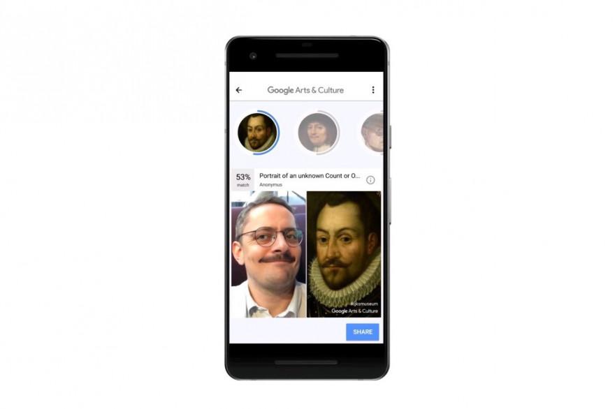 L'application Google Arts & Culture compare vos selfies à des tableaux de maîtres