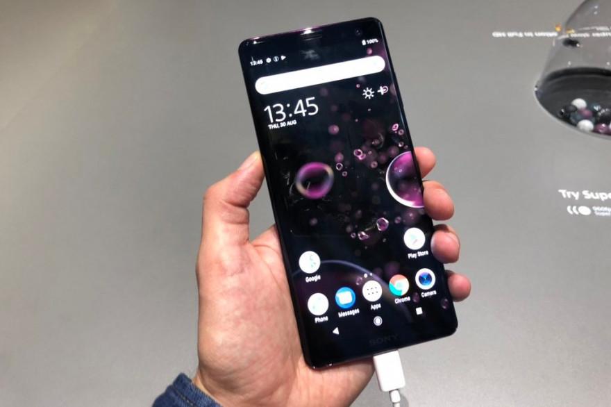 Le Sony Xperia XZ 3 sera l'un des premiers smartphones à bénéficier d'Android 9 Pie en France