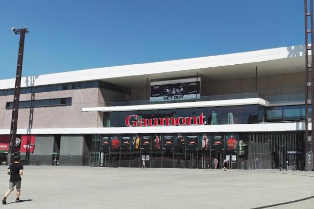 Cinéma Gaumont à Rennes.