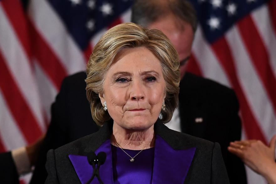 """Depuis qu'ils se sont opposés à la présidentielle, Donald Trump affuble Hillary Clinton du surnom """"la crapule""""."""