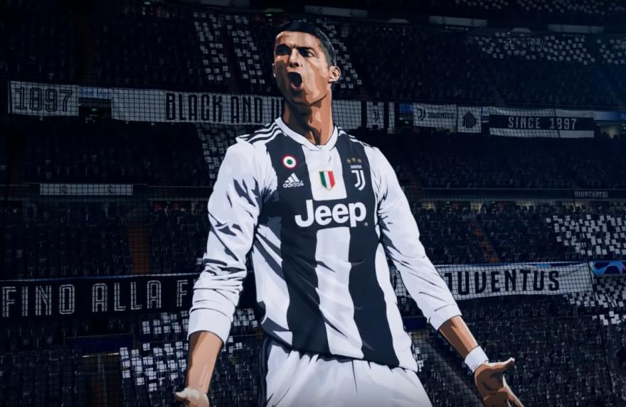 La star portugaise de la Juventus de Turin n'apparaît plus sur le site officiel d'Electronic Arts, éditeur du jeu FIFA 19