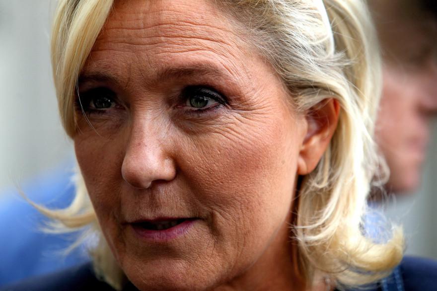 Marine Le Pen en septembre 2018
