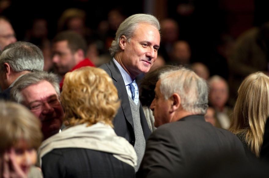 L'ancien secrétaire d'État George Tron, le 2 février 2012
