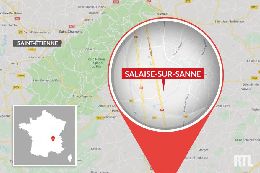 Salaise-sur-Sanne, en Isère