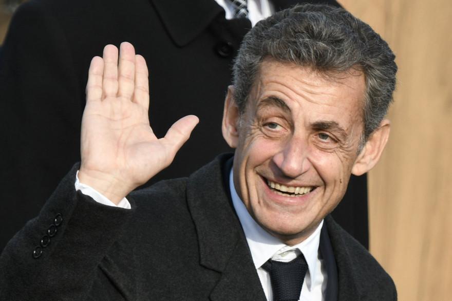 Nicolas Sarkozy le 16 décembre 2018 à Telavi, en Géorgie
