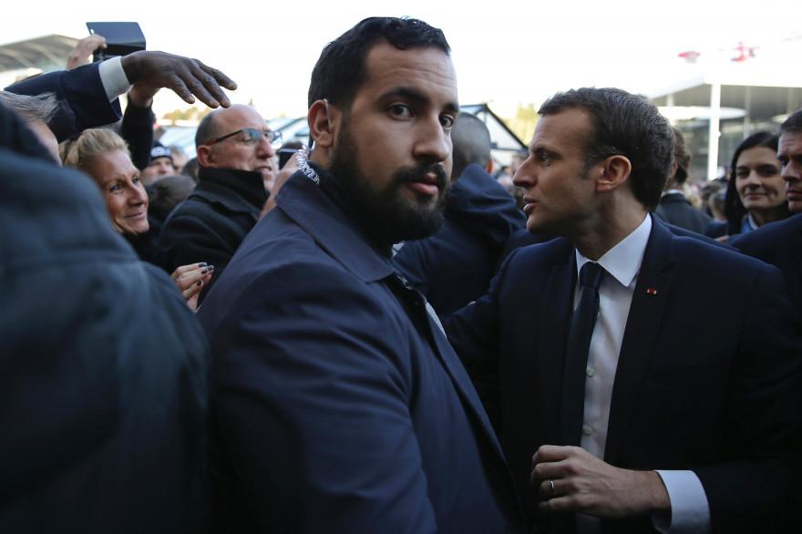 L'ancien chargé de mission d'Emmanuel Macron Alexandre Benalla, le 24 février 2018