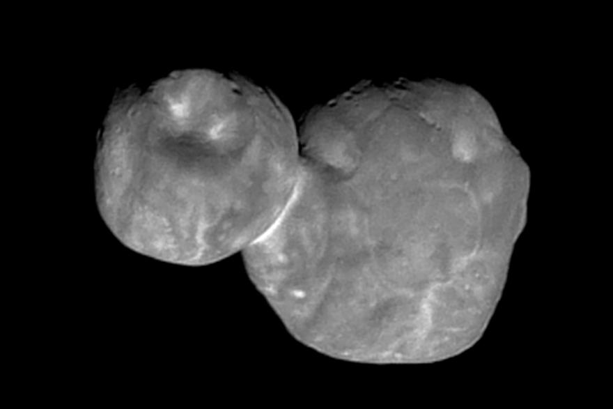 La Nasa a publié une image améliorée de l'astéroïde Ultima Thule