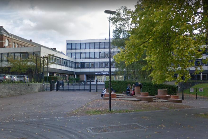 La cité scolaire Charles Baudelaire, à Roubaix, où a eu lieu l'agression du petit Amine