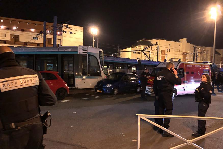 L'accident entre les deux tramways s'est produit lundi 11 février au soir