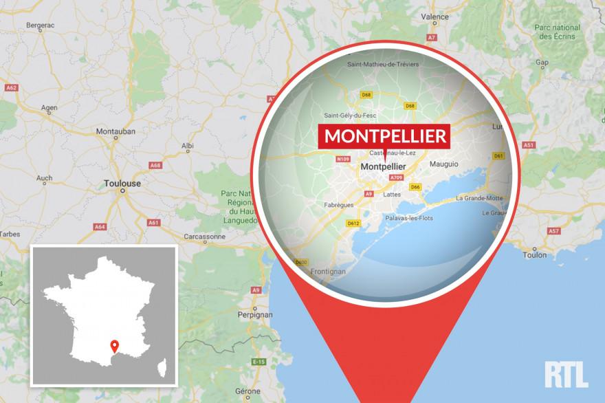 Montpellier, dans l'Hérault