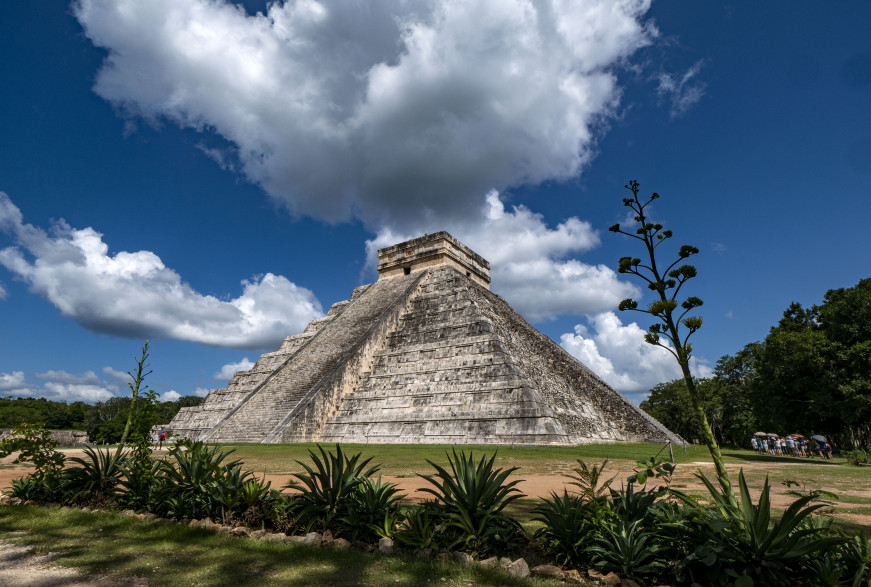 Le site maya de Chichen Itza, au Mexique