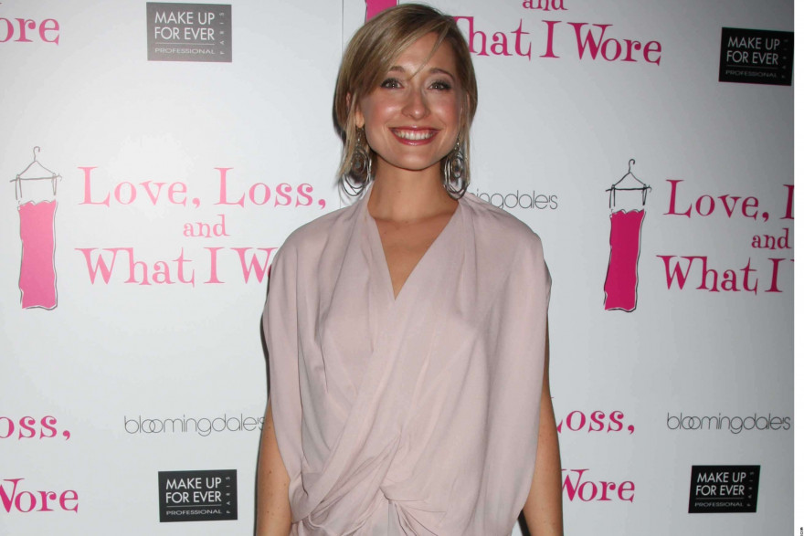L'actrice Allison Mack, en 2010 à Broadway