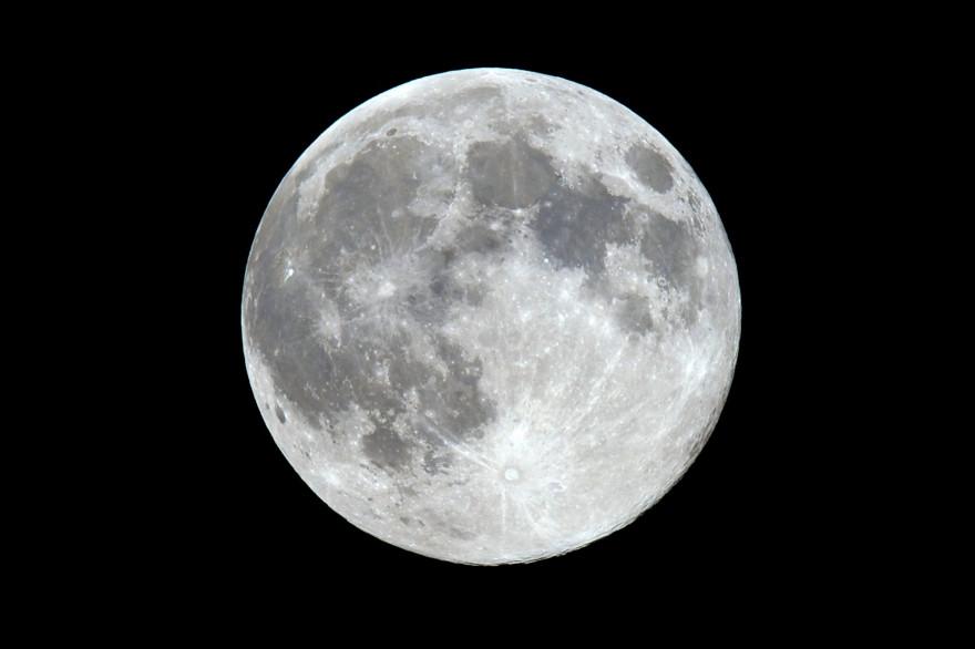 Une vue de la Lune