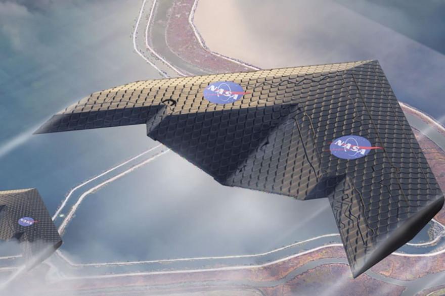 Des chercheurs ont mis au point une aile flexible qui évolue au fil du vol.