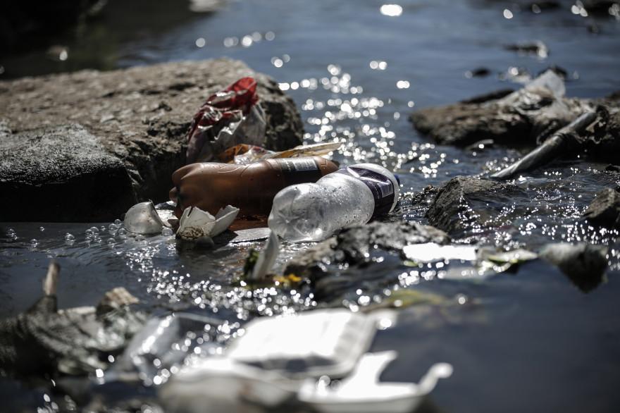 Des déchets en Afrique du sud (illustration)