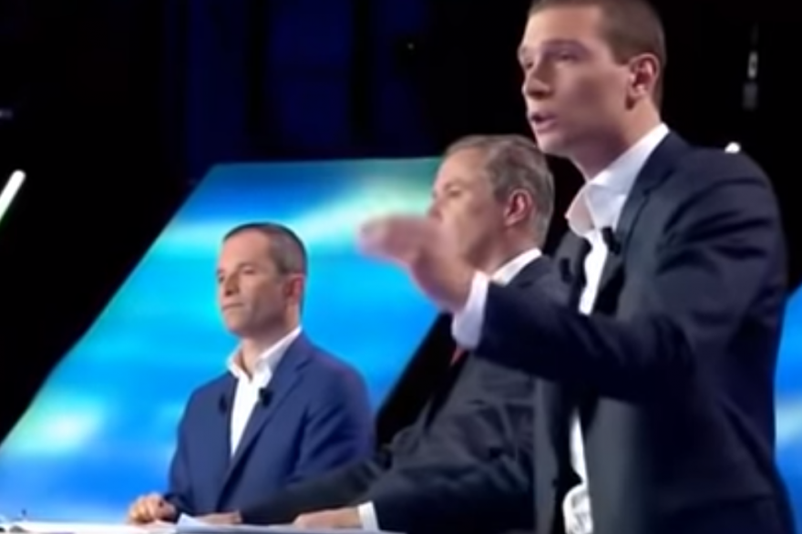 Benoît Hamon et Jordan Bardella se sont affrontés sur le thème de l'immigration lors de l'ultime débat entre les têtes de liste, le 23 mai 2019
