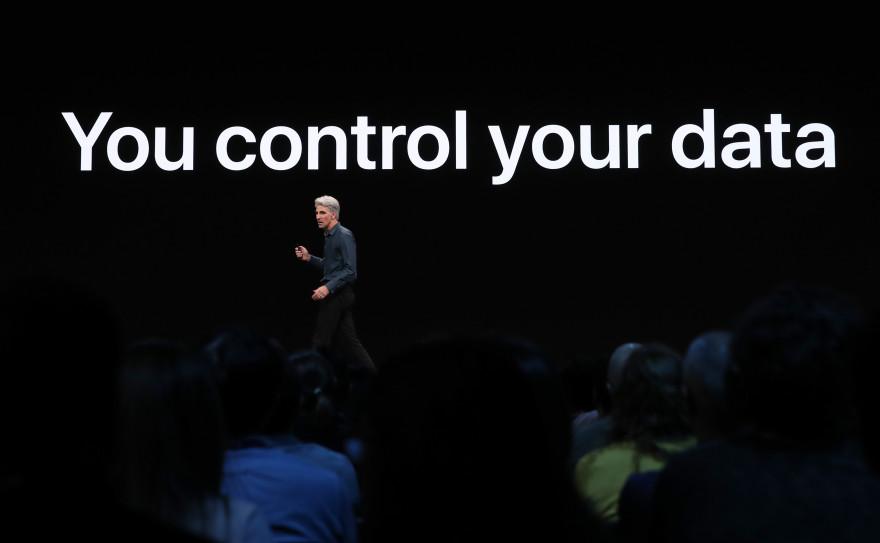 Apple s'est de nouveau présenté en champion de la vie privée lors de la WWDC 2019