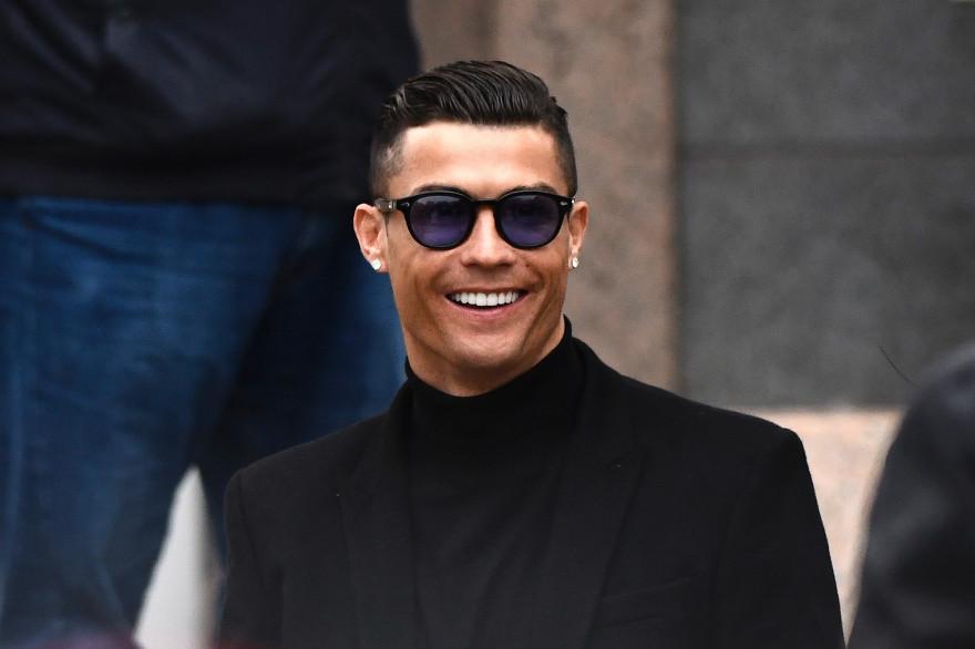 Cristiano Ronaldo à Madrid le 22 janvier 2019