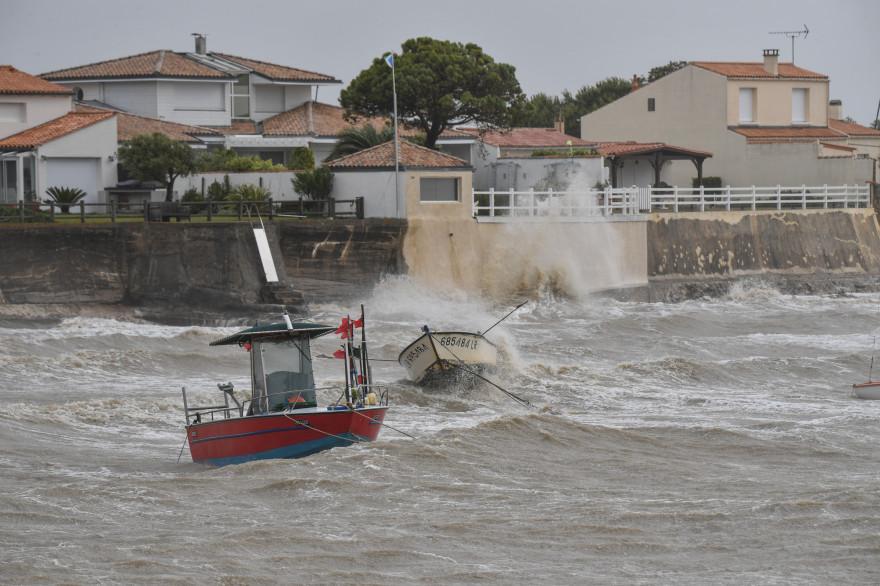 La tempête Miguel s'est abattue sur la cote Atlantique ce vendredi 7 juin 2019.