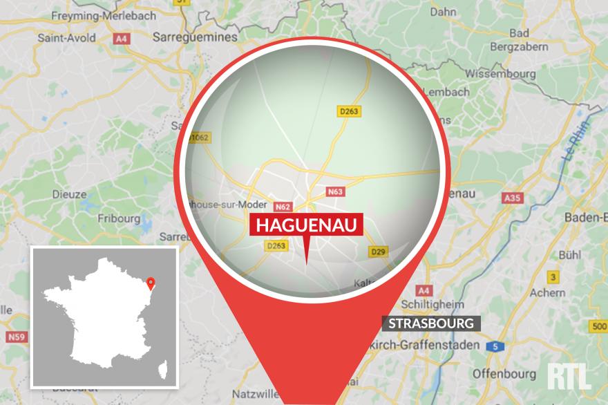 Haguenau, en Alsace