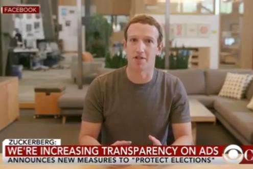 """Mark Zuckerberg a été victime d'une manipulation d'image dans une vidéo """"deep fake"""""""