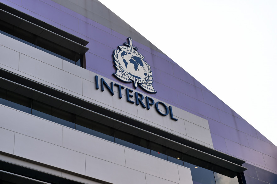 Le logo d'Interpol (illustration)