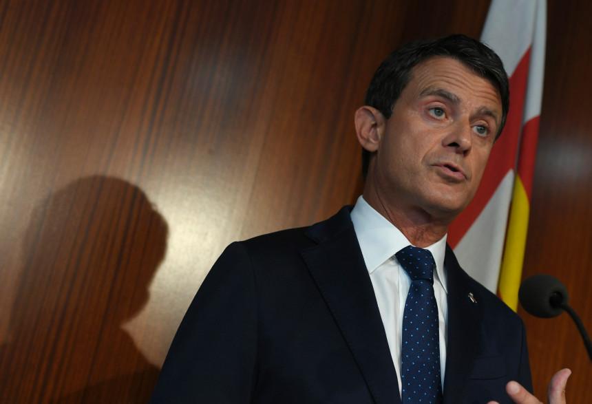 Manuel Valls, le 19 juin à Barcelone