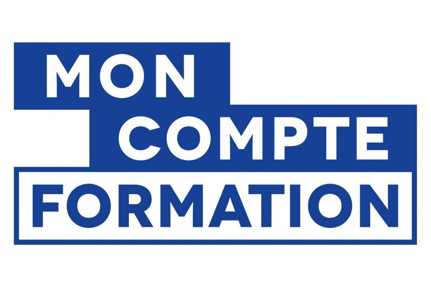 """Le logo """"Mon compte formation"""""""