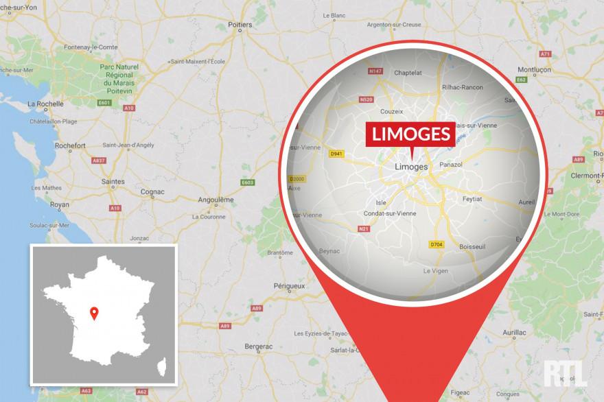 La ville de Limoges en Haute-Vienne