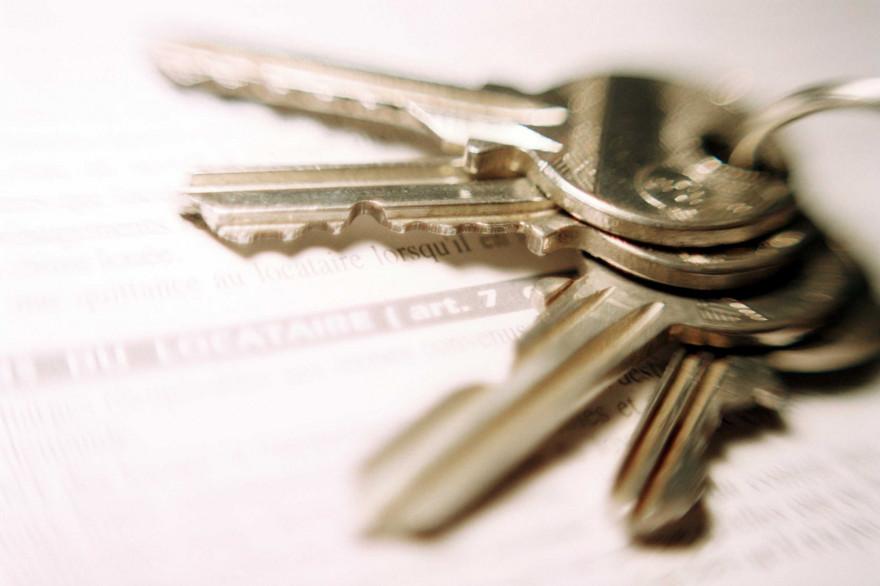 Les clés d'un appartement (illustration)