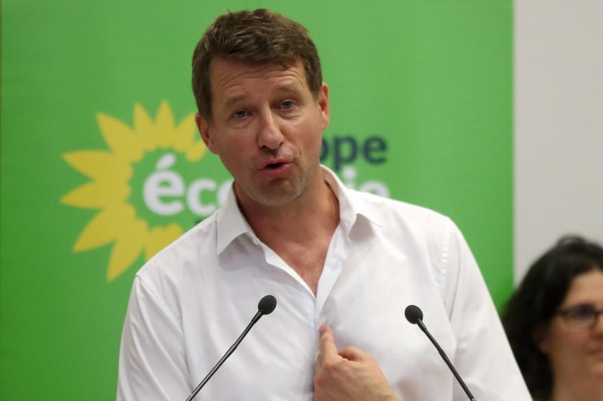 Yannick Jadot, eurodéputé écologiste, le 22 juin 2019