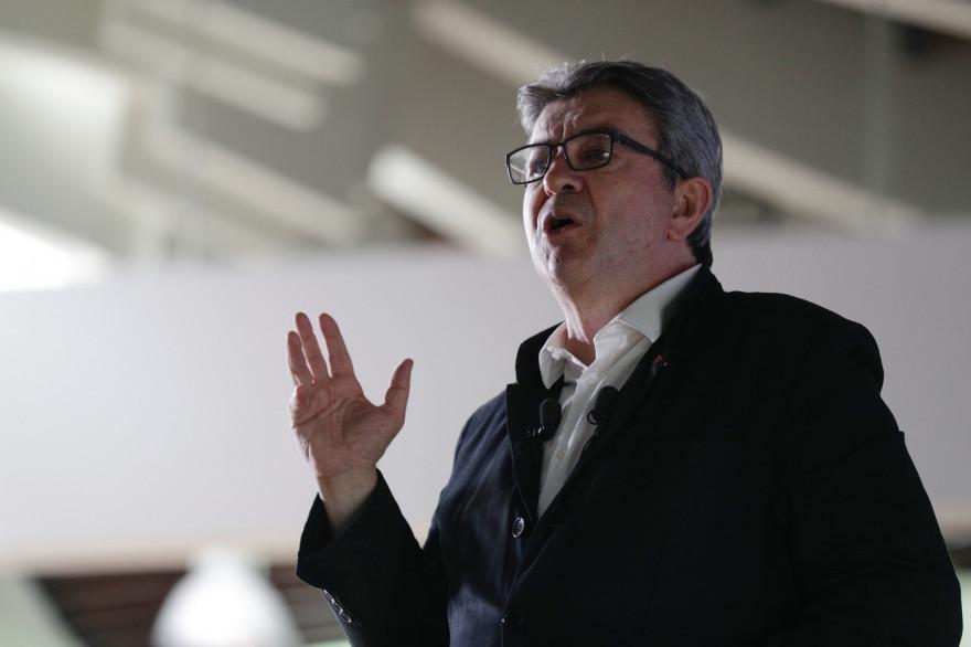 Jean-Luc Mélenchon lors de l'Assemblée représentative de la France Insoumise le 23 juin 2019