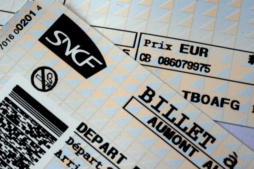 Des billets SNCF (illustration)