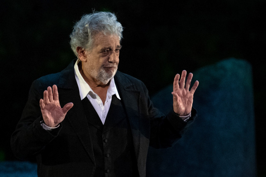 Placido Domingo à Orange en juillet 2019